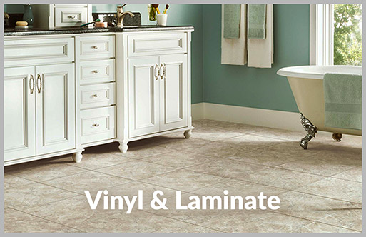 Designer Showroom of Texas has a huge selection of laminate & vinyl available.  Stop by today!